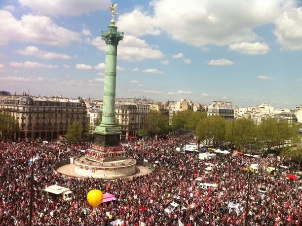 Manifestation du 5 mai, bataille de chiffres - AgoraVox le média ...