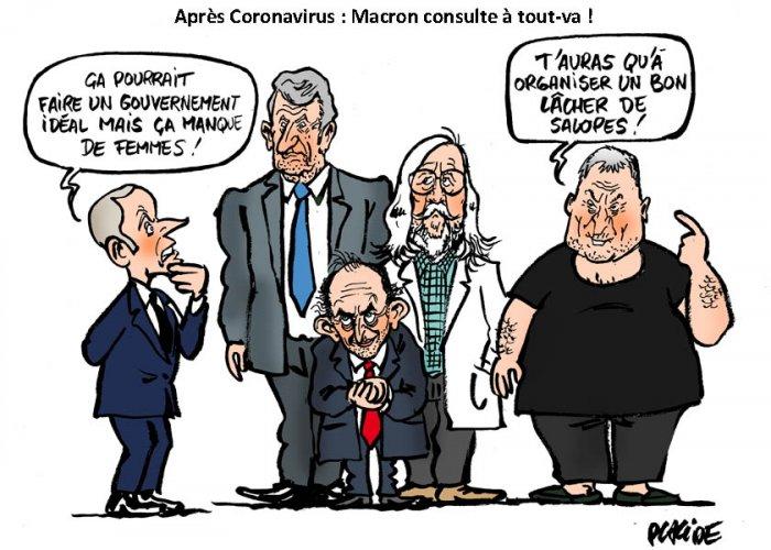 Macron, Bigard, Zemmour, Raoult, Philippe de Villiers. Cherchez l'intrus...  - AgoraVox le média citoyen