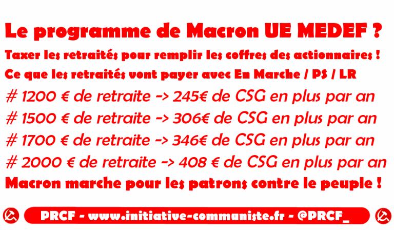 Hausse De La Csg Les Petites Retraites Taxees Pour Remplir